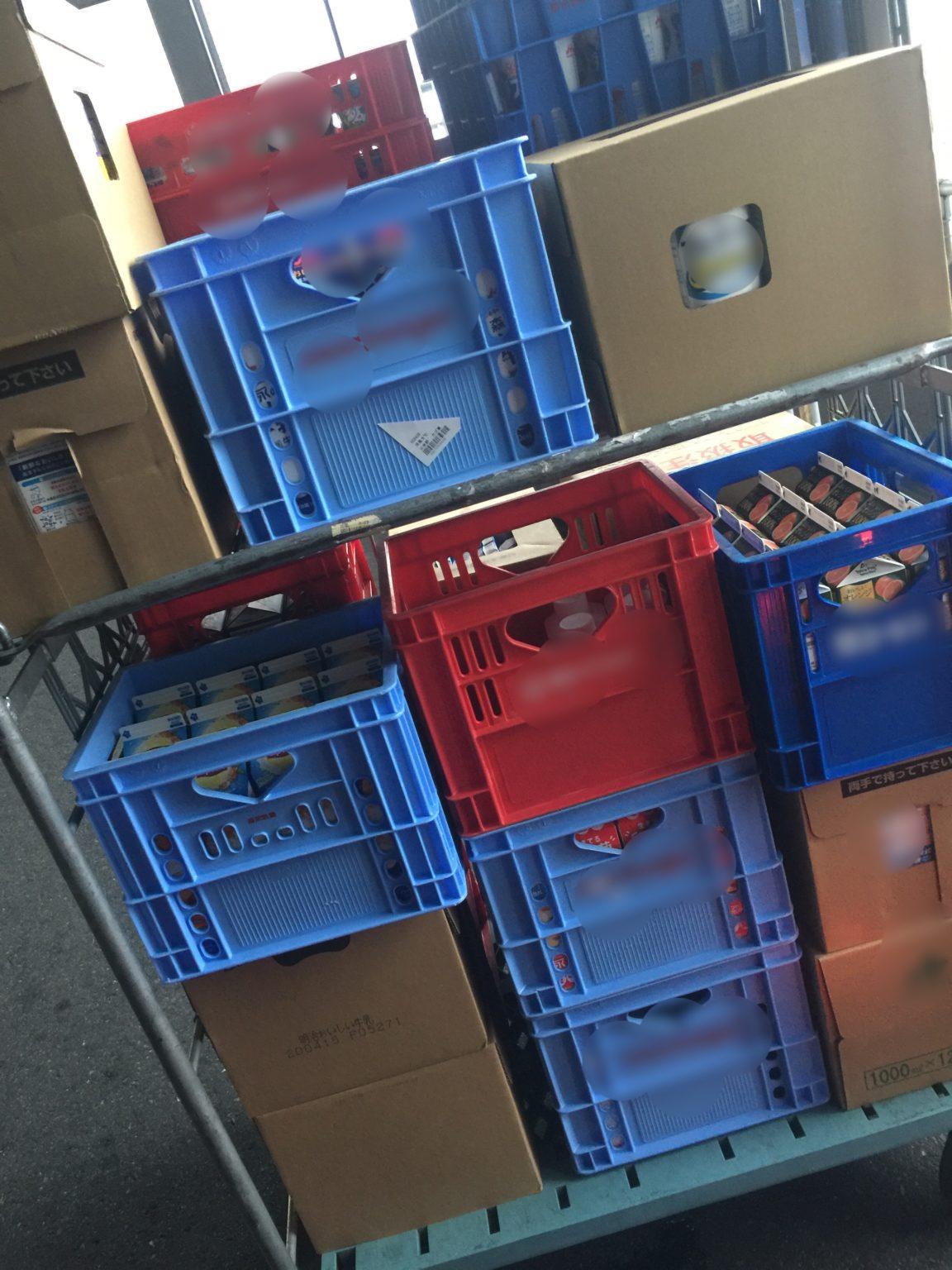 飲料配送を軽貨物の配送専門ブログで語る。
