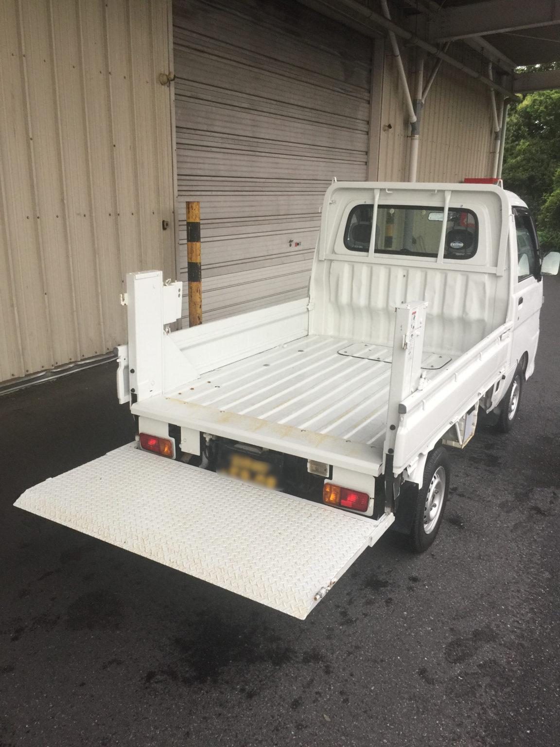千葉県で軽貨物のパワーゲート 【軽貨物運送の検証ブログ】