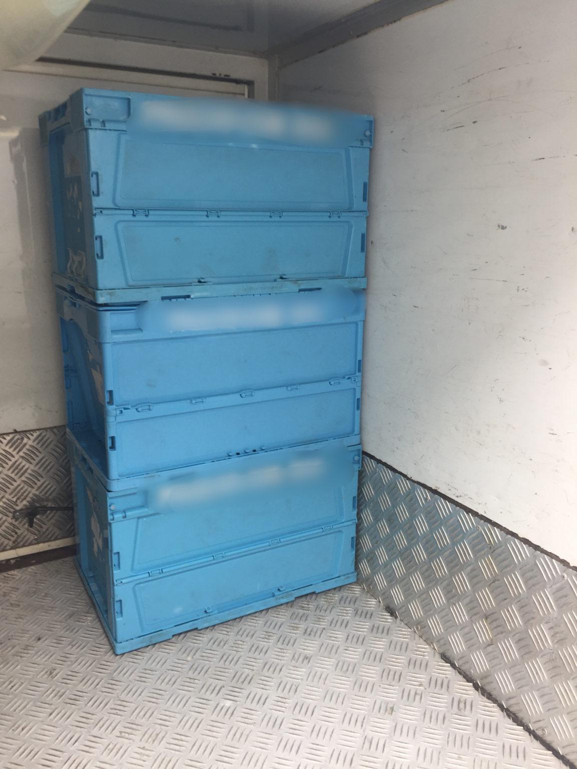 軽貨物配送で使うオリコン 【軽貨物運送の検証ブログ】