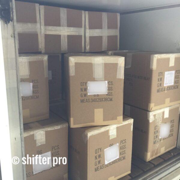 千葉県で輸入品配送のチャーター