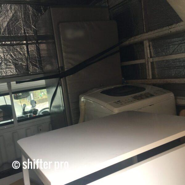 千葉県で洗濯機配送のチャーター
