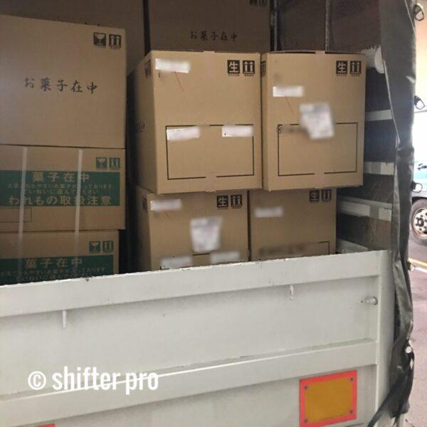 千葉県で和菓子配送のチャーター