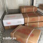 冷凍肉の配送チャーター